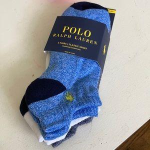 Polo Ralph Lauren Classic Sport Low Cut 3pk